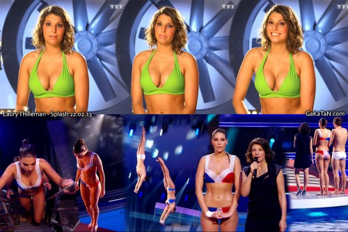 Laury Thilleman sexy dans Splash 22.02.13 (photos)