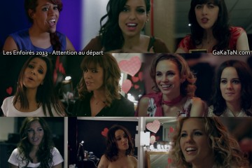 Shym-Jenifer-Alizee-Nolwen-Tal-Chimene-Badi-Amel-Bent-Enfoires-2013-Attention-au-depart