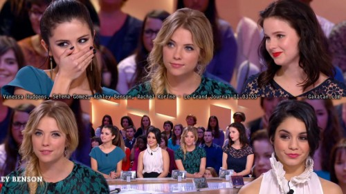 Le casting de Spring Breakers au Grand Journal 01.03.13 (photos)