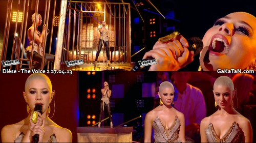 Im outta love de Diese dans The Voice 27.04.13 (video)