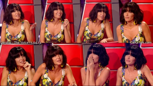 Jenifer sexy dans The Voice 13.04.13 (photos)