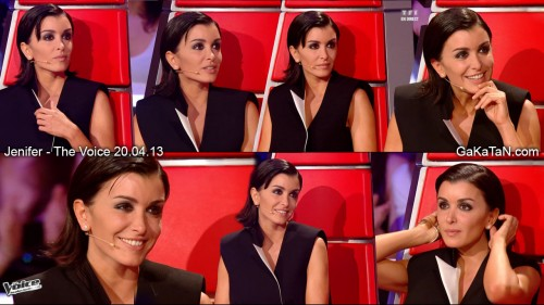 Jenifer Bartoli dans The Voice 20.04.13 (photos)