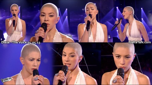 Dièse chante Lettre à France dans The Voice 04.05.13 (video)