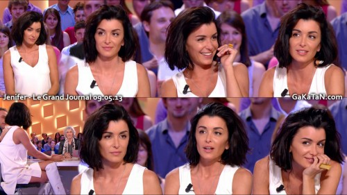 Jenifer Bartoli dans Le Grand Journal 09.05.13 (photos)