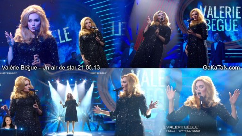 Sublime Skyfall de Valérie Bègue en Adèle dans Un air de star (video)