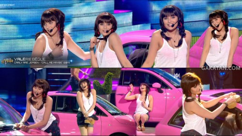 Call me maybe de Valérie Bègue dans Un air de star 14.05.13 (video)