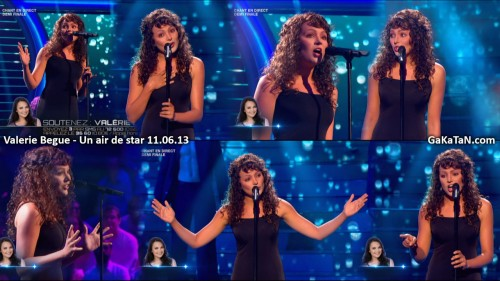 Valérie Bègue chante Hero dans Un air de star 11.06.13 (video)