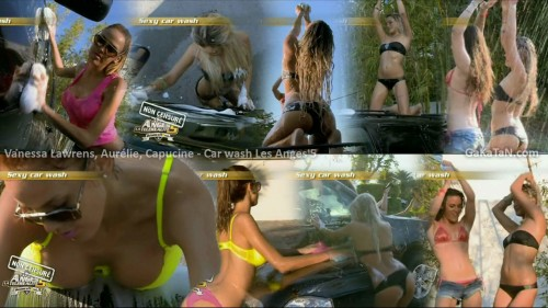 Le car wash de Vanessa, Aurélie et Capucine dans Les Anges 5 (video)
