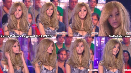 Zahia Dehar dans Le grand 8 02.09.13 (photos)