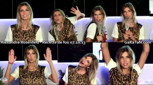 Alexandra Rosenfeld dans Recette de fou 07.10.13 (video)