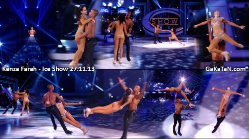 Kenza Farah dans Ice Show 27.11.13 (video)