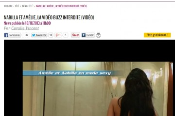 Nabilla-Amelie-nue-douche-Les-Anges-video-Closer-bidon-arnaque
