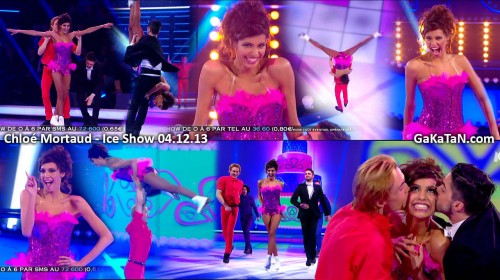 Chloé Mortaud dans Ice Show 04.12.13 (video)