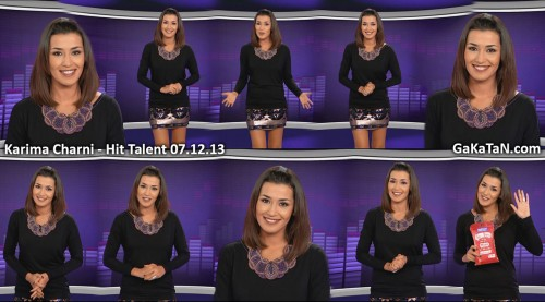 Karima Charni dans Hit Talent 07.12.13 (photos)