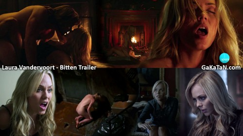 Laura Vandervoort nue dans le trailer de Bitten (video)