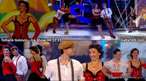 Tatiana Golovin dans Ice Show 04.12.13 (video)