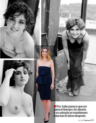 Julie-Gayet-nue-topless-Interviu-Magazine-Janvier-2014-02
