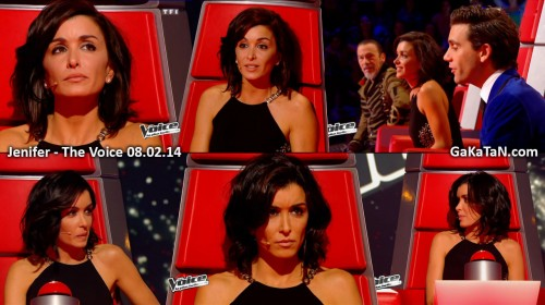 Jenifer dans The Voice 08.02.14 (photos)