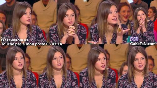 Adele-Exarchopoulos-Touche-pas-a-mon-poste-TPMP-030314