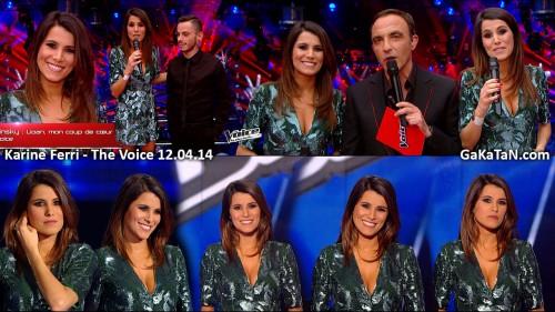 Karine-Ferri-The-Voice-120414