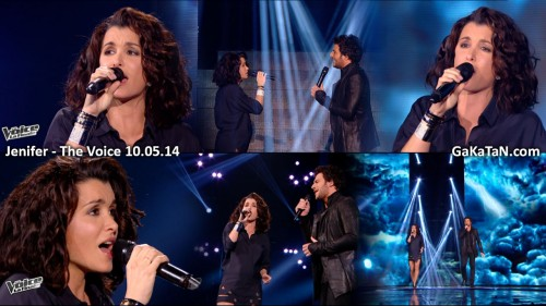 Jenifer-Amir-Si-seulement-Calogero-The-Voice-100514