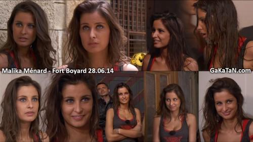 Malika Menard, Flora Coquerel et Delphine Wespiser dans Fort Boyard (photos)