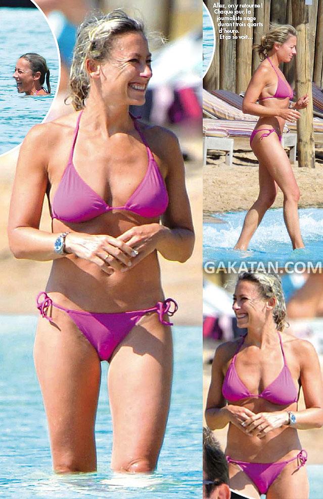 florence la salope femme en string a la plage