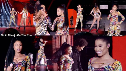 Nicki-Minaj-on-the-run-Beyonce
