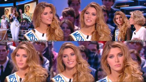 Camille-Cerf-Miss-France-2015-Le-Grand-Journal-081214