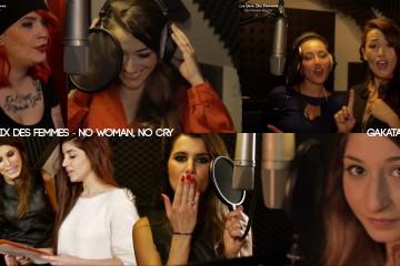 Karine-Ferri-Karima-Charni-Hedia-Charni-Flora-Coquerel-Elodie-Gossuin-No-Woman-No-Cry-Unissons-nos-voix