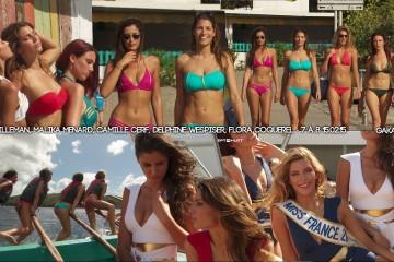 Laury-Thilleman-Malika-Menard-Delphine-Wespiser-Camille-Cerf-Flora-Coquerel-bikini-7a8-Sept-a-huit-150215