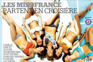 Laury-Thilleman-Malika-Menard-Delphine-Wespiser-Camille-Cerf-Flora-Coquerel-bikini-TV-Mag-croisiere-caraibes