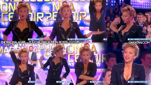 Enora-Malagre-sexy-Madonna-TPMP-020315