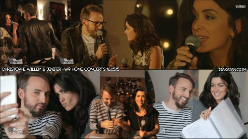 Christophe-Willem-Jenifer-W9-home-concert-160515