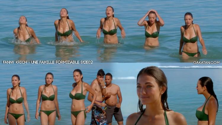 Fanny-Krich-sexy-bikini-Une-famille-formidable-S12E01