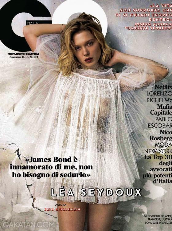 Lea-Seydoux-nue-GQ-Italia-Novembre-2015
