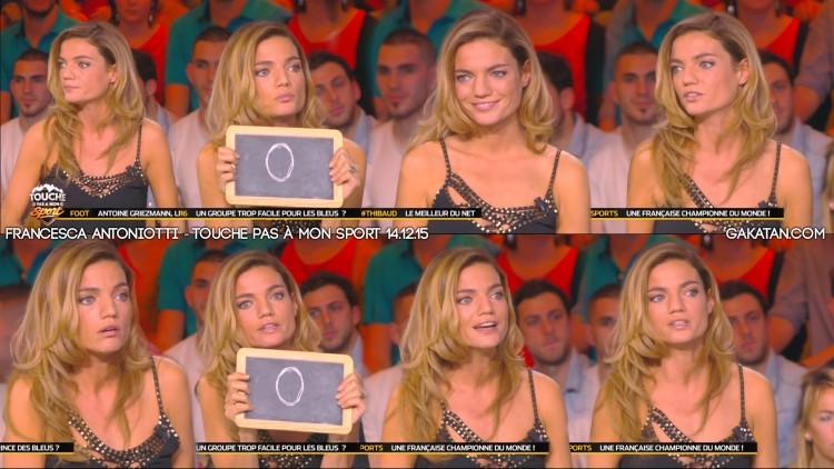 Francesca-Antoniotti-Touche-pas-a-mon-sport-141215-TPMS