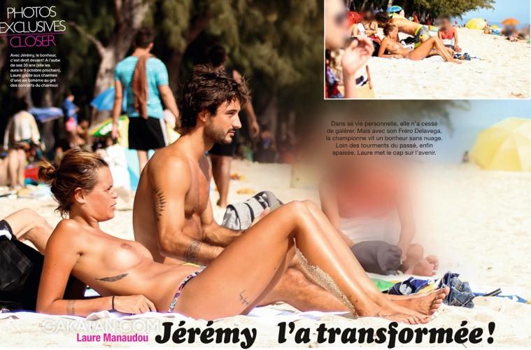 Laure-Manaudou-nue-topless-Closer-plage-Jeremy-Frerot -Frero-Delavega-2